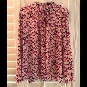 Ann Taylor dress blouse